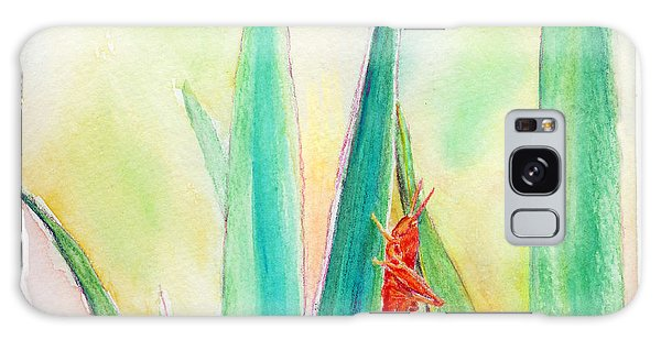 Grasshopper Galaxy Case by C Sitton