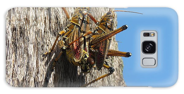 Grasshoppers Galaxy Case by Fortunate Findings Shirley Dickerson