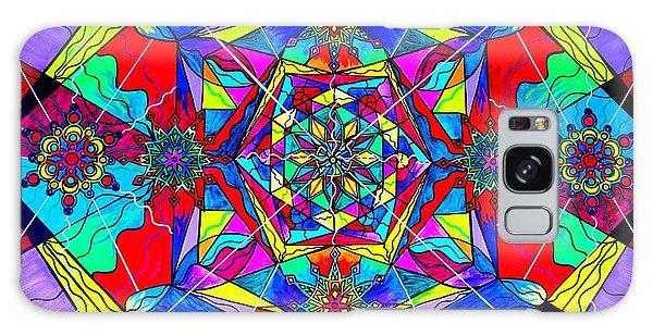 Beautiful Galaxy Case - Gratitude by Teal Eye Print Store