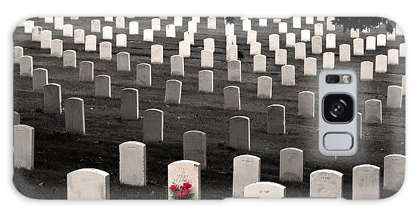 Graves At Arlington National Cemetery Galaxy Case