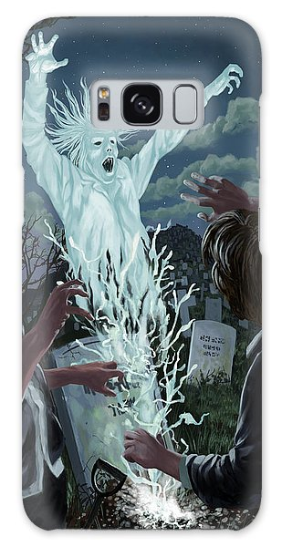 Graveyard Digger Ghost Rising From Grave Galaxy Case
