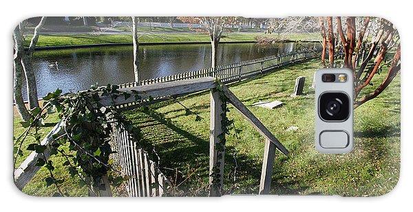 Graveyard East Hampton New York Galaxy Case