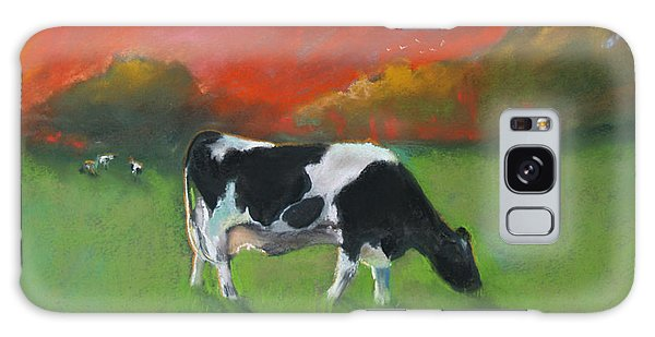 Grazing Cow Galaxy Case