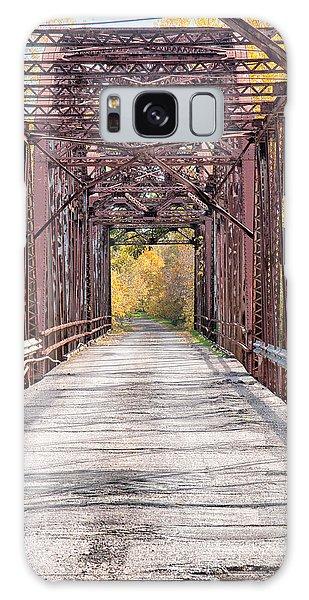 Greasy Bend River Bridge Galaxy Case