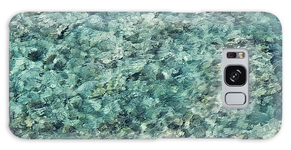 Great Barrier Reef Texture Galaxy Case