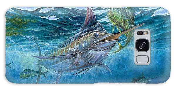 Great Blue And Mahi Mahi Underwater Galaxy Case