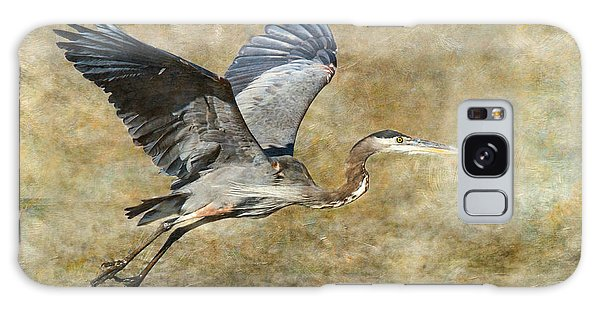Great Blue Heron 2 Galaxy Case