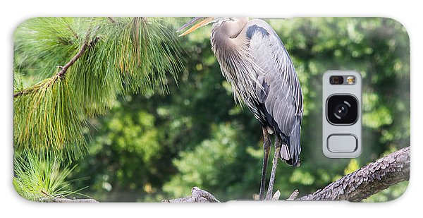 Great Blue Heron I Galaxy Case