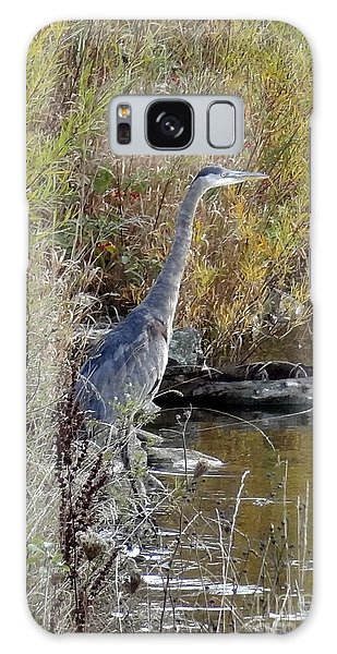 Great Blue Heron - Juvenile Galaxy Case