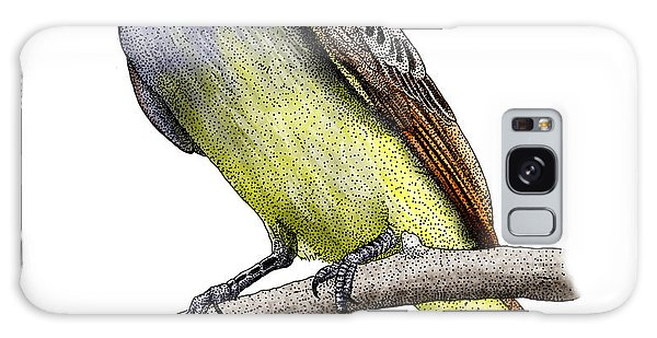 Great Crested Flycatcher Galaxy Case by Roger Hall