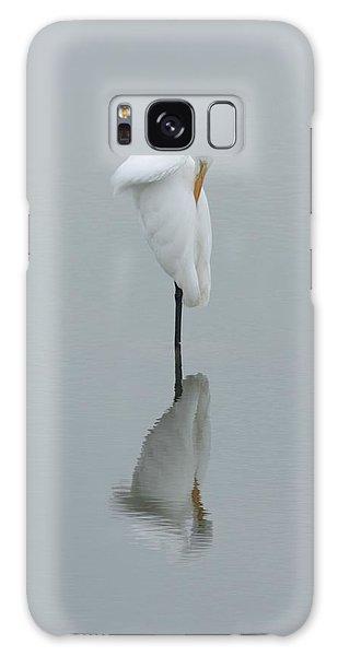Great Egret Galaxy Case