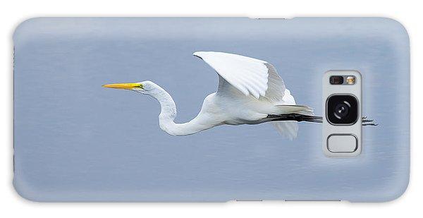Great Egret In Flight Galaxy Case by John M Bailey