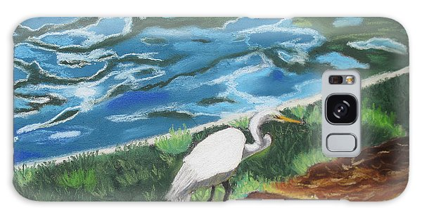 Great Egret In Florida Galaxy Case