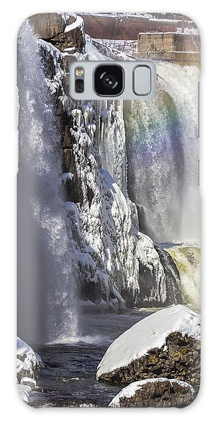 Great Falls And A Rainbow Galaxy Case