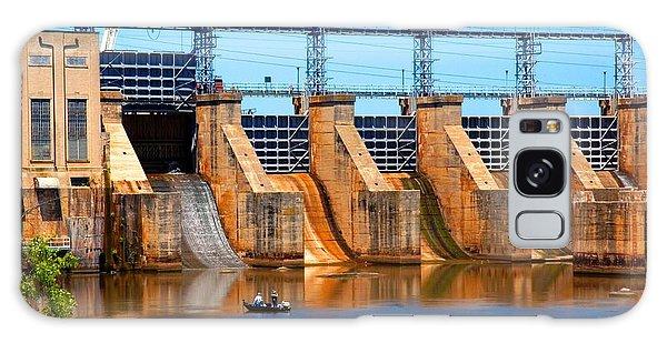 Great Falls Dam Galaxy Case by Bob Pardue