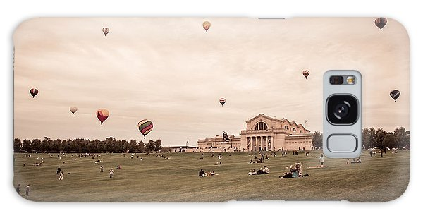 Great Forest Park Balloon Race Galaxy Case by Scott Rackers