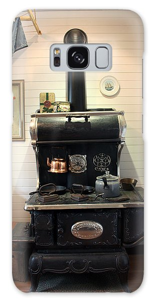 Great-grandma's Stove Galaxy Case by Gerry Bates