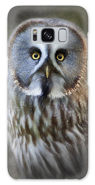 Great Grey Owl Galaxy Case