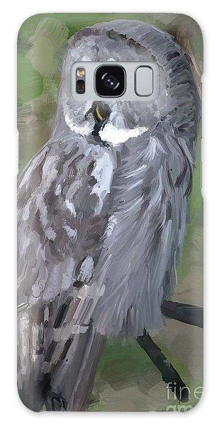 Great Grey Owl Galaxy Case