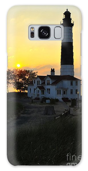 Great Lakes Lighthouse Big Sable Point Galaxy Case