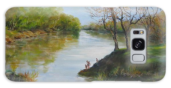Sold  Pee Dee River 2014 Galaxy Case by Gloria Turner