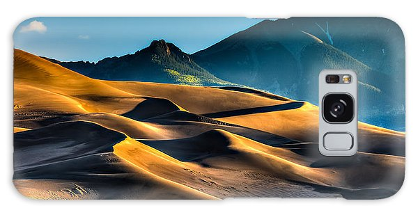 Great Sand Dunes At Dawn Galaxy Case