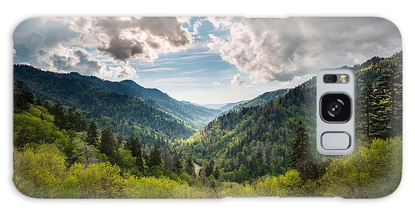 Great Smoky Mountains Landscape Photography - Spring At Mortons Overlook Galaxy Case