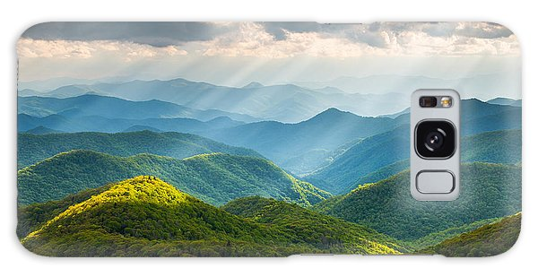 Horizontal Galaxy Case - Great Smoky Mountains National Park Nc Western North Carolina by Dave Allen