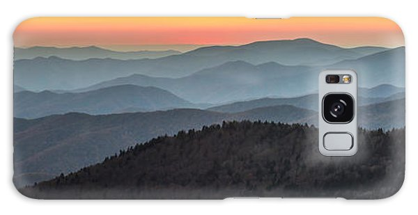 Great Smoky Mountains National Park Sunset Galaxy Case