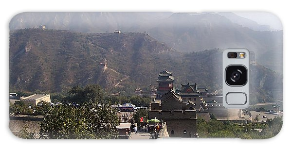 Great Wall Of China At Badaling Galaxy Case