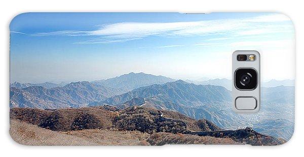 Great Wall Of China - Mutianyu Galaxy Case by Yew Kwang