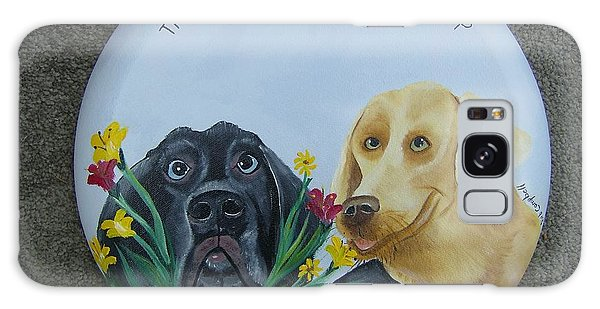 Greatest Gift Is A Dogs Friendship Galaxy Case