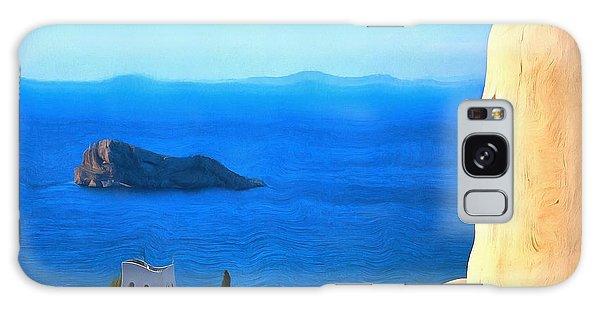 Grecian Blue Galaxy Case