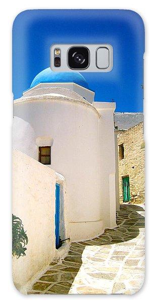 Religious Galaxy Case - Greek Blue  by Emma  Heidemann