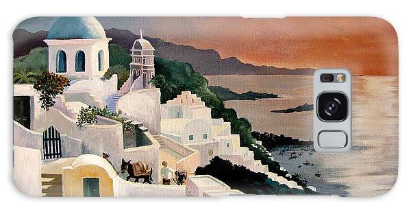 Greek Isles Galaxy Case by Marilyn Smith