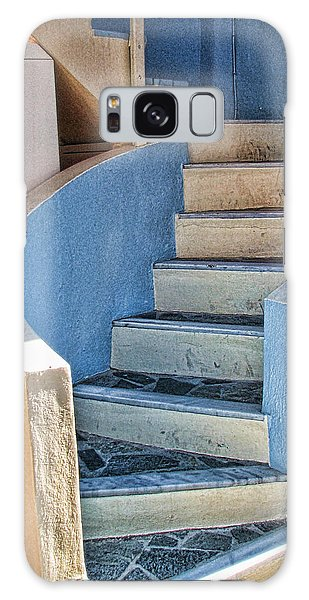 Greek Stairs Galaxy Case