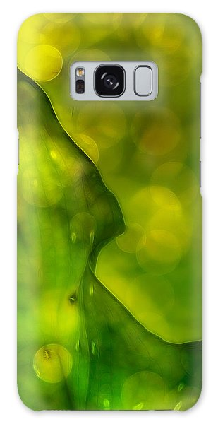 Green Abstract Galaxy Case