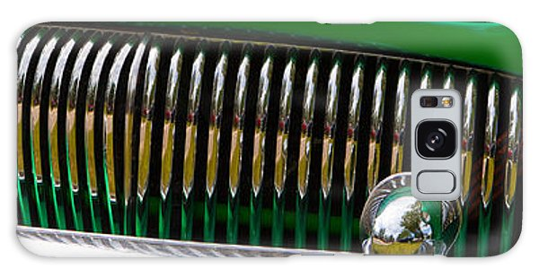 Green And Chrome Teeth Galaxy Case by Mick Flynn