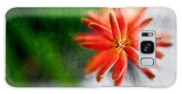 Green And Orange Galaxy Case by Sandy Moulder