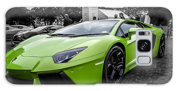 Green Aventador Galaxy Case