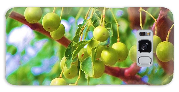 Green Berries Galaxy Case
