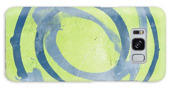 Green Blue Galaxy Case by Julie Niemela