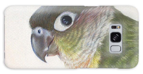 Green Conure Galaxy Case