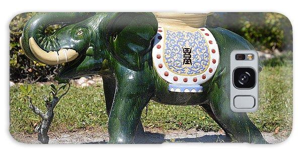Decorative Galaxy Case - Green Elephant  by Doug Grey