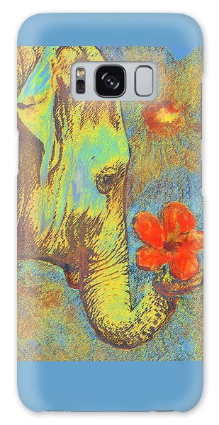 Green Elephant Galaxy Case