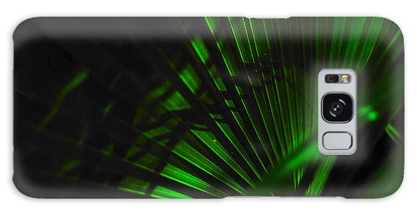 Green Fan Galaxy Case