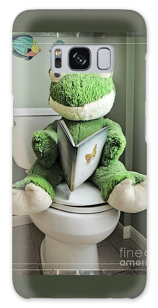 Green Frog Potty Training - Photo Art Galaxy Case