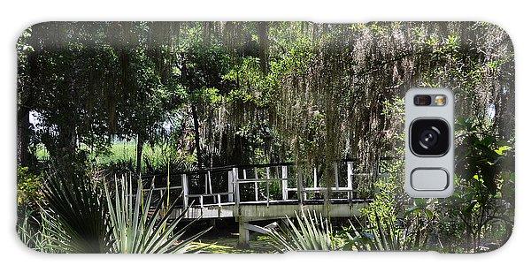Green Gardens At Magnolia Plantation Galaxy Case