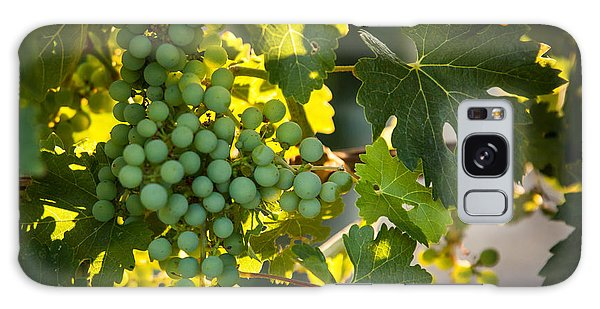 Green Grapes Galaxy Case