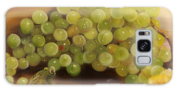 Green Grapes Green Frog Galaxy Case